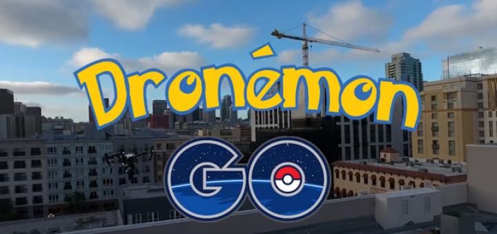 Dronémon Go