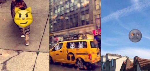 Emojis animados en Snapchat