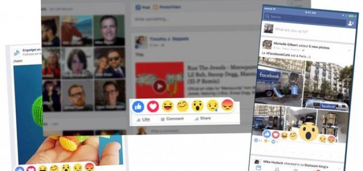 Facebook Ractions