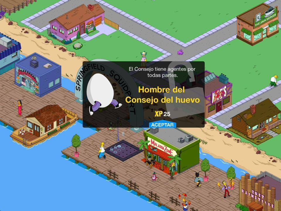 obtener todo más rápido, instala Los Simpson: Springfield 4.8.0 MOD