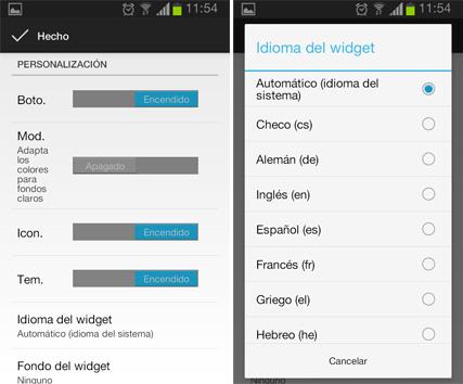 Fweather Widget Original Widget De Clima Para Android