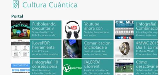 Cultura Cuantica app windows phone