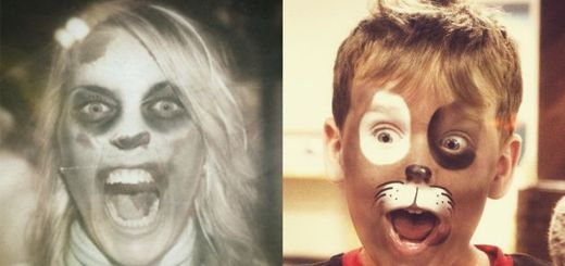fotos con efecto halloween