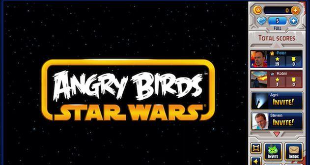 Ya se puede jugar Angry Birds Star Wars en Facebook