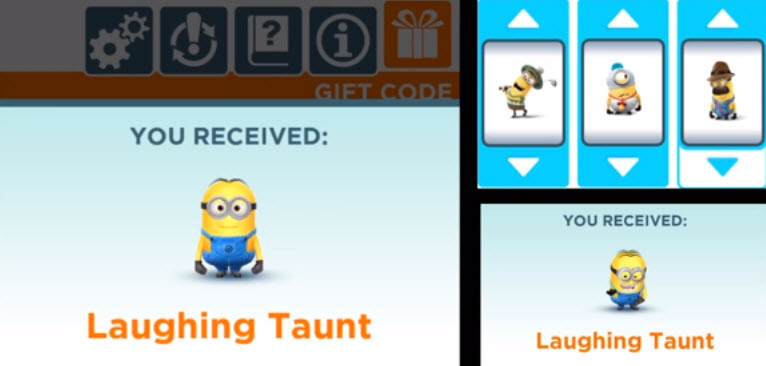 minion rush codigo 4