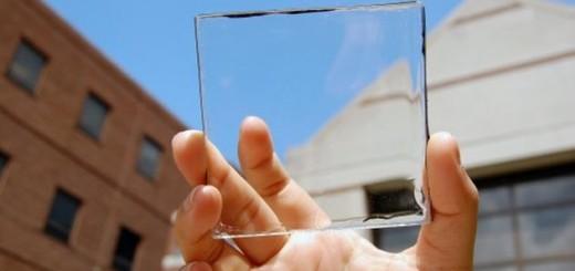 placas solares transparentes