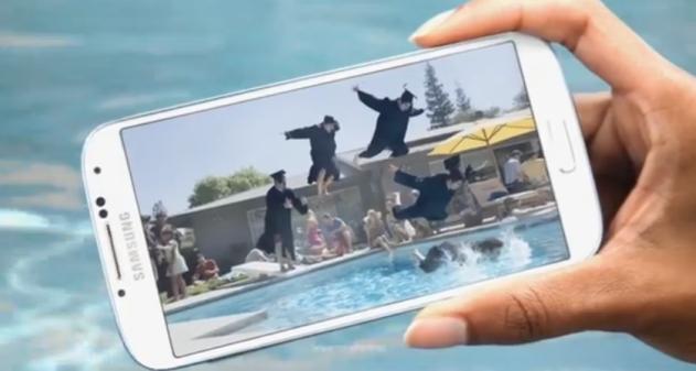 publicidad Samsung Galaxy S4