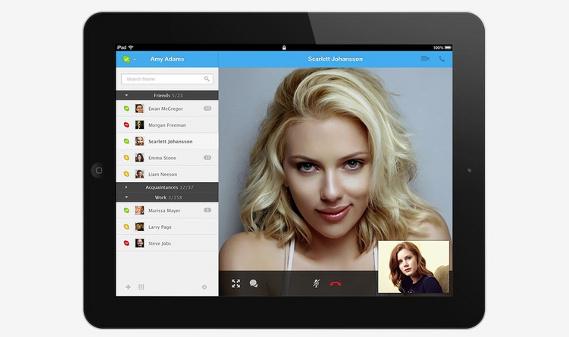 skype tablet concepto portada
