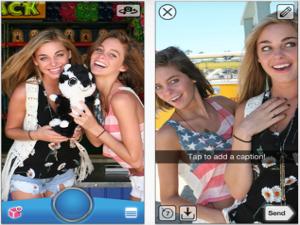 snapchat - foto video