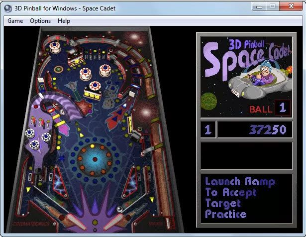 3D pinball windows 7