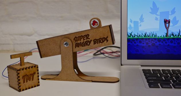 Photo of Un mando real para Angry Birds con Arduino