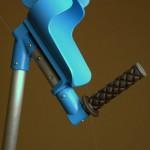Apoyo para muletas impresas en 3D