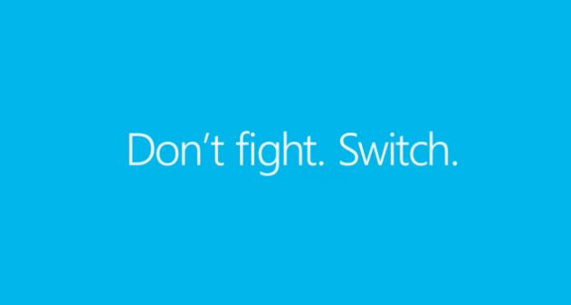 Photo of [Video] «Don't fight. Switch.» Ingenioso comercial del Lumia 920