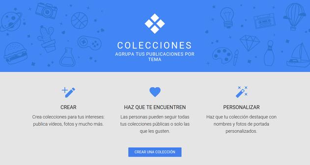 Photo of Google+ lanza «Colecciones», su versión de Pinterest