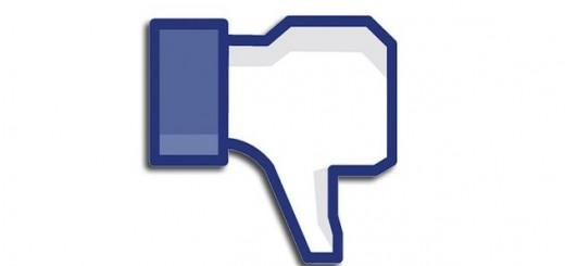 Facebook no me gusta