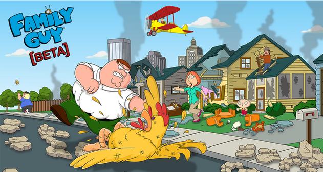 Juego Family Guy Beta
