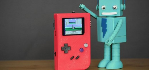 Gameboy con Rasberry Pi impreso en 3D