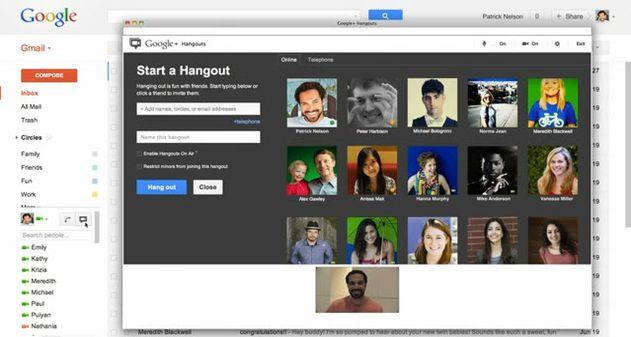 Photo of Google sustituye las videollamadas de Gmail con los Hangouts de Google+