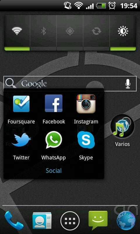 Holo Launcher Social
