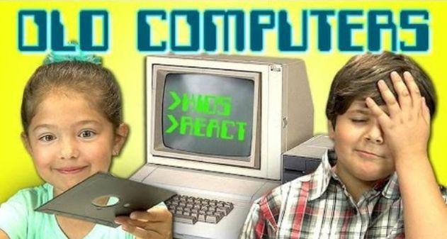 Photo of [Video] Mira la reacción de estos niños frente a una computadora antigua
