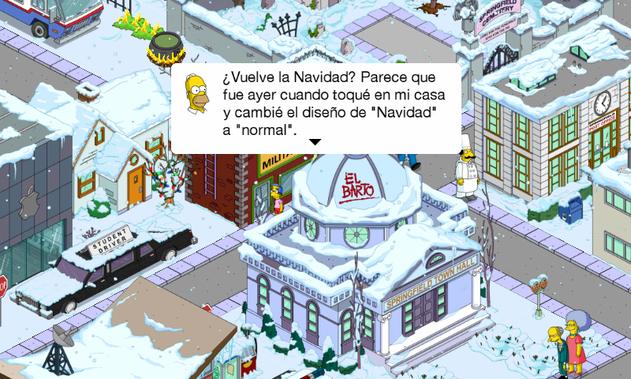 Navidad Los Simpson Springfield 4.6.0