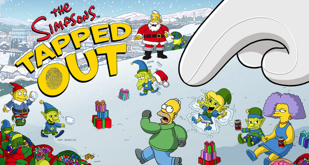 Photo of Los Simpson: Springfield Navidad 2014 ya esta disponible [Android/iOS]