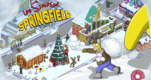 Photo of Actualización Navidad 2015 Los Simpson: Springfield