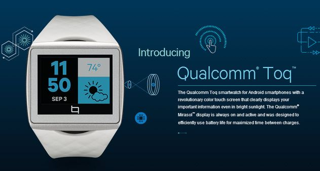 Photo of Qualcomm presenta su smartwatch: Toq