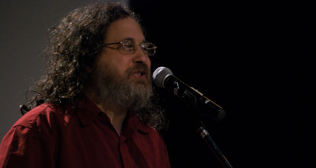 Photo of Richard Stallman visita Buenos Aires