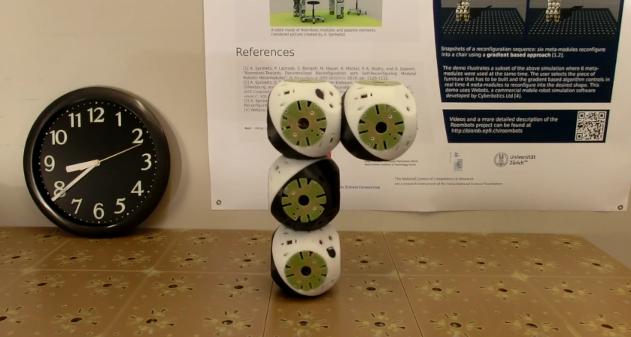 Photo of Roombots transforman tus muebles en robots