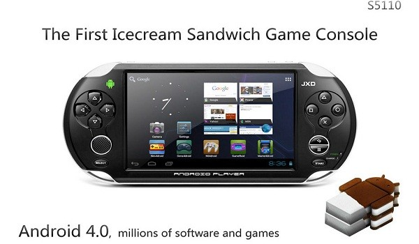 JXD S5110 la primera consola con Android 4.0