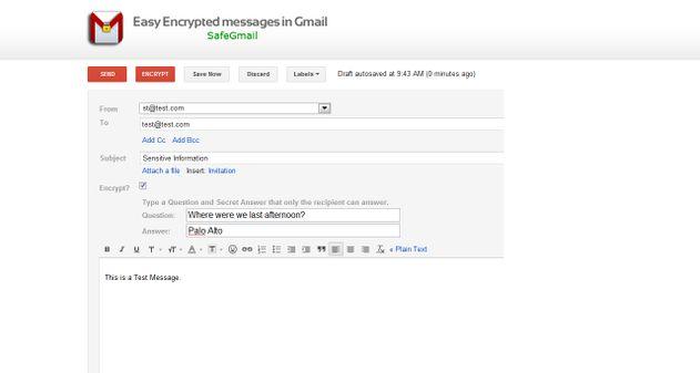 Photo of SafeMail: envía mensajes encriptados desde Gmail