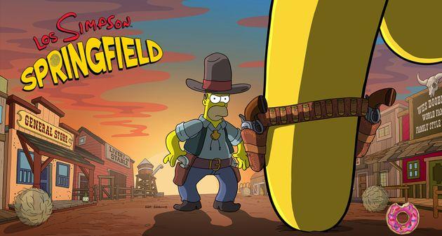 Photo of Salvaje Oeste, detalles de la nueva actualización de Los Simpson: Springfield