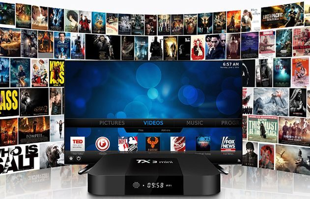 Tanix TX3 android tv box