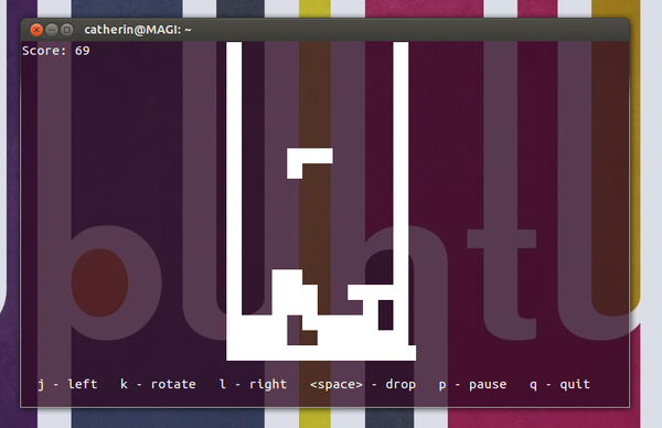 Tetris BSD