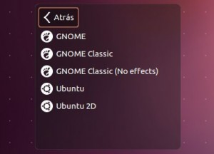 Ubuntu gnome clasico - gnome panel