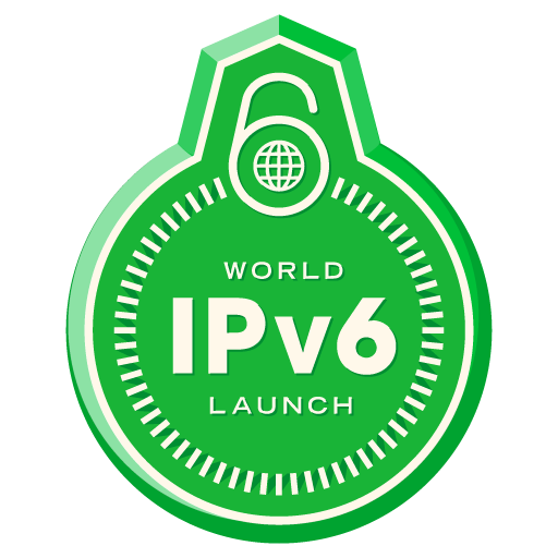 World IPv6 Logo oficial