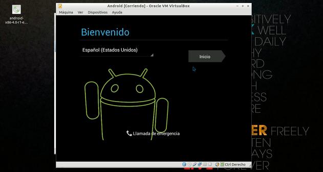 instalar Android en una máquina virtual