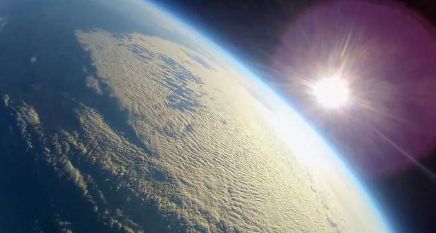 avion radio control al espacio