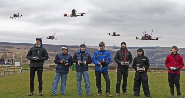 Photo of Las carreras de drones llegan a la TV y serán transmitidas por ESPN