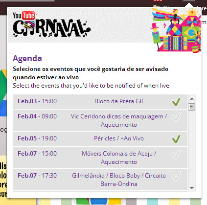 chrome carnaval