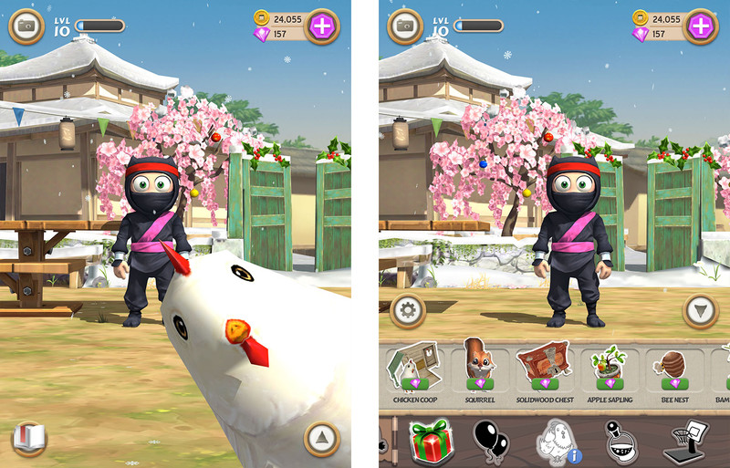 clumsy ninja animales