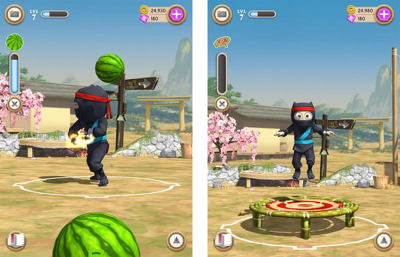 clumsy ninja entrenar