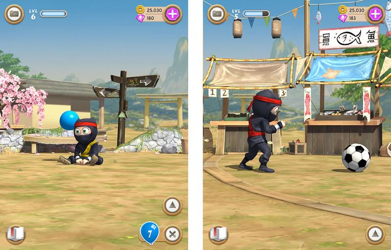 clumsy ninja jugar