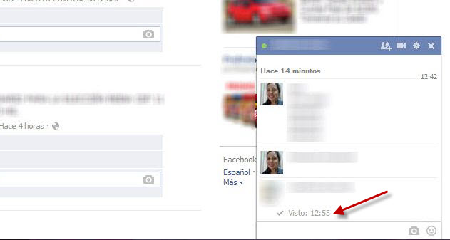 Photo of Cómo deshabilitar el 'Visto' y 'Escribiendo' del chat de Facebook