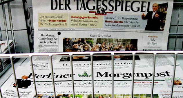 medios alemanes