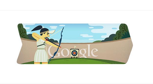 doodle arco y flecha