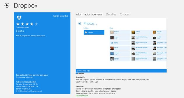 Photo of Dropbox ya cuenta con aplicación oficial para Windows 8