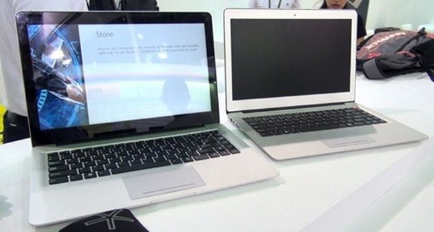 Photo of Clon de Macbook con Windows 8 y pantalla multitactil