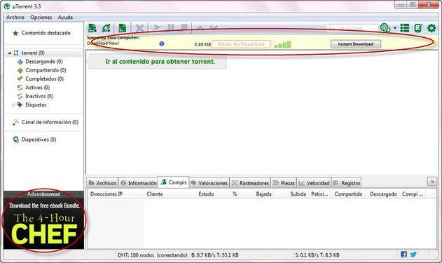 Photo of Como eliminar la publicidad de uTorrent